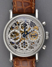 Chronoswiss Opus Skeleton Chronograph Ref: ch-7523 (np. € 8000)! Top & Clean!!!