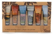 Tuscan Hill 6 Piece Scented Hand Cream Collection (6 oz.)  Gift - Travel