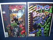 Dv8 vs Black Ops #1 and #2 Image Comics NM with Bag and Board