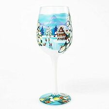 Hand Painted Contemporary Glasses & Drinking Glassware