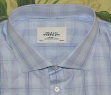 CHARLES TYRWHITT Blue Pink Longsleeve Button Down Shirt 19 37