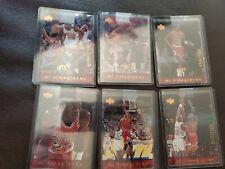 Rare: 1998 98 Upper Deck MJX Michael Jordan MJ Timepieces  #'d of 2300 Bulls lot
