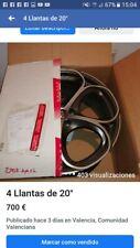 """Llantas 4 OZ 5x112 20"""" Gris pulido, nuevas con tornilleria y embalaje original"""
