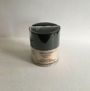 REVLON Colorstay Aqua Mineral Makeup, Light Medium 050 0.35 oz, Sealed