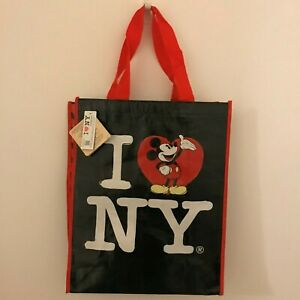 NEW Disney Mickey Mouse I Love New York Reusable Tote