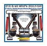 LINK-TRI-IZ-01 Isuzu 4Link Bolton Differential W/Bags/Shocks/C-Notchs