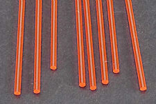 NEW Plastruct Fluorescent Rod 3/32  (8) 90272