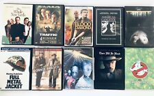 Mixed Lot Of 10 DVD Movies Original Traffic Ghostbusters iRobot Donnie Brasco