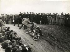 PHOTO ANCIENNE - VINTAGE SNAPSHOT - MOTOCROSS MOTOCYCLETTE MOTO SPORT DESMOULIN