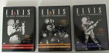 ELVIS PRESLEY 3 DVD THE GREAT PERFORMANCES VOL.1 VOL. 2 VOL. 3