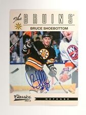 12-13 Panini Classics Signatures Bruce Shoebottom autograph auto #87 *47420