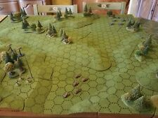 Geo-Hex Wargame Terrain Battlescape Set Green Flock