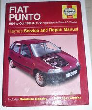 FIAT PUNTO 176 - 1994 - 1999 Manual Reparaturbuch Buch Auflage 1999 Zustand gut