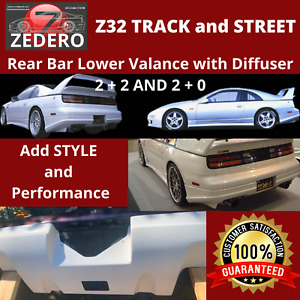 Z32 300ZX Rear Bar Lower Valance with DIFFUSER
