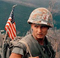 US ARMY USMC VIETNAM VINTAGE ORIGINAL COVER HELMET M-1 NOS