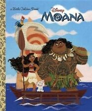 NEW Moana Little Golden Book (Disney Moana) by Laura Hitchcock