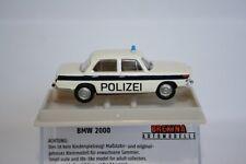 BREKINA 24415 - 1/87 BMW 2000 - POLIZEI SOLOTHURN (WEISS/BLAU) - NEU