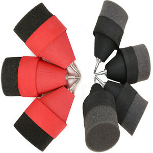 6/12/24Pcs Safe Sponge Foam Arrowheads for Archery Arrows Combat Tag Larp Games