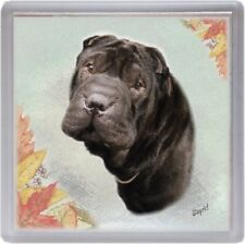 Shar Pei Coaster Design No 2 by Starprint
