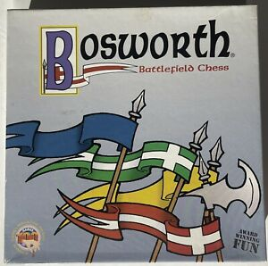 Bosworth Battlefield Chess Premier Edition by Out of the Box Games 1998Open Box