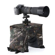 Movo THB02 Camera Lens Beanbag with Gimbal/Ball Head Mount - Mossy Oak /Fullsize