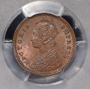 British India 1901 1/12 Anna PCGS MS63BN SW-6.672 PC0674 combine shipping