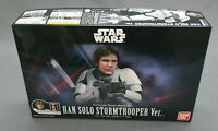 Star Wars Plastic Model Kit 1/12 Han Solo Stormtrooper Ver. Bandai NEW***