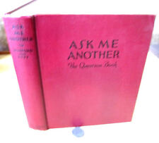 ASK ME ANOTHER; NEW QUESTION BOOK,Justin  Spafford & Lucien Esty,Omnibus Ed
