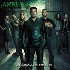 DC Comics Arrow TV Series 16 Month 2016 Photo Wall Calendar, NEW SEALED