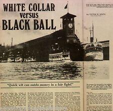 Steamship Line Battle of White Collar vs Black Ball+ Gazzam,Tolo,Kitsap,Dix