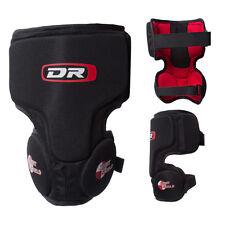 New DR ice hockey goalie knee pad Senior Sr sz thigh protector guard