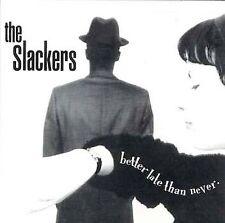 The Slackers Better Late than Never CD with bonus tracks SKA NYC Vic Ruggiero