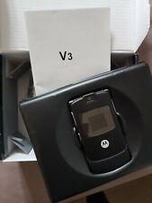 Motorola RAZR V3 Reconditioned - Black Unlocked Mobile Phone - Refurbished