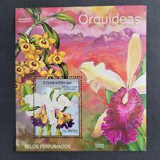 SoaTome&Principe 2014 / Flora - Orchids / 1v minisheet mnh