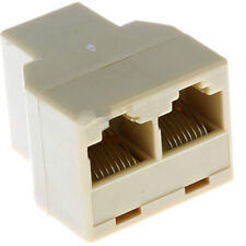 Duplicator RJ45 Cable Splitter Splitter Network Ethernet Internet Extension Tt