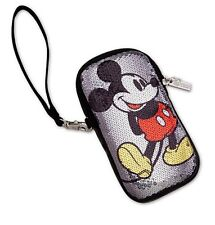 Disney Parks Authentic Sequined Mickey Mouse Coin Purse Womens Small Wallet NWT