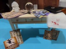 Witch's filled sideboard Dollhouse Miniatures 1:12 scale Halloween NEW