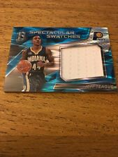 Jeff Teague Pacers 2016-2017 Panini Spectra Spectacular Swatches Blue#65 55/99