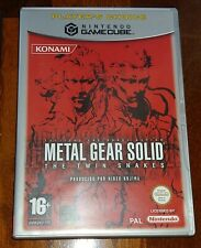 Metal gear solid Gamecube Complete.PAL spain! GAME,JEU,SPIEL,JUEGO. like new!!