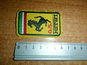 """FERRARI 1980s, FERRARI PATCH """" GS"""" Gruppo Sportivo ( Sports Group )"""