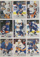 NEW YORK ISLANDERS ~ Team Set ~ 2019-20 Upper Deck - 12 Hockey Cards - BARZAL