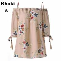 Casual Plus Size Loose Short Sleeve Tops Blouse Women T-Shirt Floral Printed