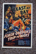 Flash Gordons Trip to Mars #14 Lobby Card Movie Poster A Beast At Bay