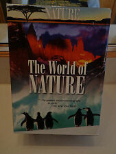 The World of Nature (DVD, 2007, 6-Disc Set) Nice Shape Free Shipping