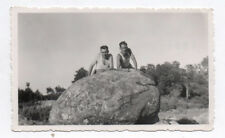PHOTO ANCIENNE ANONYME Homme Man Gay Interest 1930 Couple Marcel Rocher Deux