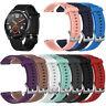 Silikon Ersatz Armband Uhrenarmband Watch Band Für Huawei Watch GT2 GT 42mm/46mm