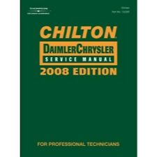 Chilton 142204 Chilton Chrysler 2008 Service Manual