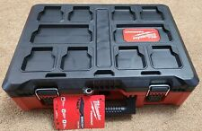 Milwaukee Packout 48-22-8450 Tool Case w/ Insert Impact Driver Storage or Empty