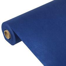 """3 dunkelblaue Tischdecken stoffähnlich Vlies """"soft selection"""" 40 m x 1,18 m"""
