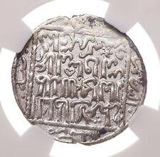 SELJUQ of RUM. Kayka'us II, AD 643-647, Silver Dirham, NGC AU Details